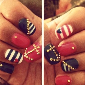 nautical-nailart